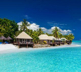 Обои на телефон пляж, море, бок, sea side and beach
