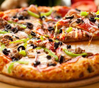 Обои на телефон пицца, вкусный, taste, pizzaaa yummy