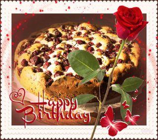 Обои на телефон торт, счастливые, розы, прекрасные, пожелания, любовь, день рождения, love, happy