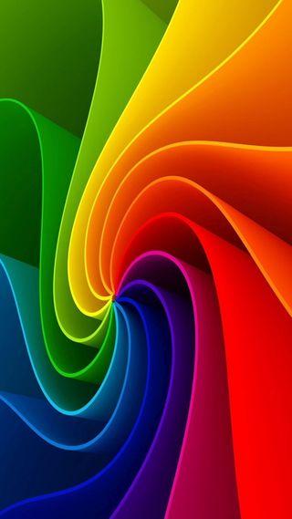 Обои на телефон фото, радуга, красочные, pinwheel