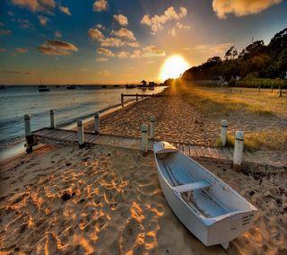 Обои на телефон лодки, приятные, прекрасные, пляж, песок, милые, взгляд, beach sand boat