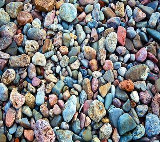 Обои на телефон макро, пляж, камни, stones macro beach, peebles