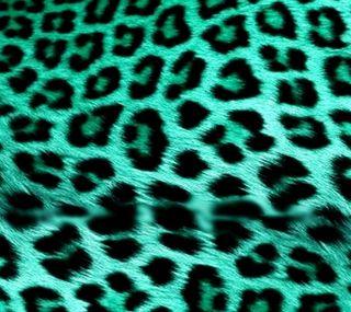 Обои на телефон мех, леопард, бирюзовые, mint