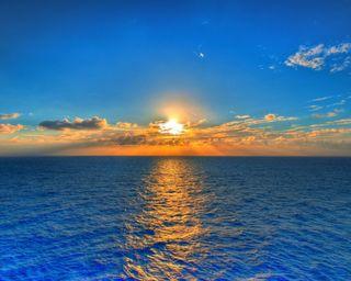 Обои на телефон солнце, природа, прекрасные, облака, новый, море, галактика, вода, note, hd, galaxy