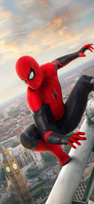 Обои на телефон человек паук, синие, паук, от, красые, дом, далеко, веб, suite, spiderman far from home, spider man, man, cobweb