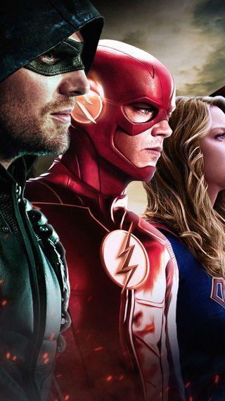 Обои на телефон супергерои, герои, флэш, flash heroes