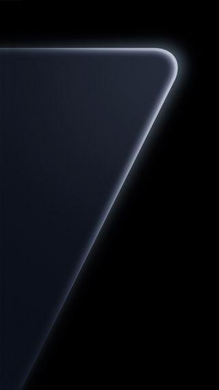 Обои на телефон официальные, черные, жемчужина, дизайн, грани, галактика, абстрактные, s7, galaxy s7 design, black pearl