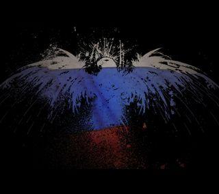 Обои на телефон россия, флаг, ru