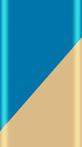 Обои на телефон супер, стиль, синие, красота, золотые, дизайн, грани, абстрактные, s7, edge style, beauty design