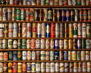 Обои на телефон пиво, collection, beers, beer shelves