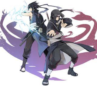 Обои на телефон шаринган, учиха, саске, ниндзя, наруто, итачи, аниме, itachi and sasuke