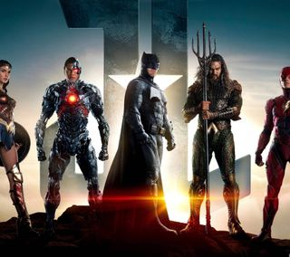 Обои на телефон чудо, флэш, справедливость, лига, киборг, женщина, бэтмен, justice league 2017