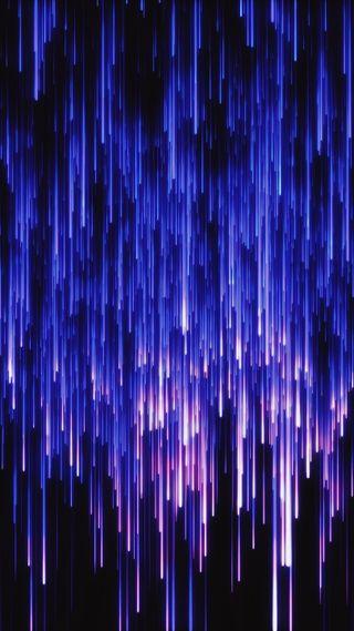 Обои на телефон яркие, электрические, фиолетовые, фантастика, синие, светящиеся, неоновые, линии, красочные, амолед, абстрактные, oled, electrostatic, amoled, Electrostatic, Electric