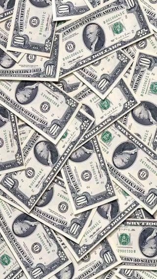 Обои на телефон доллары, деньги, dinheiro