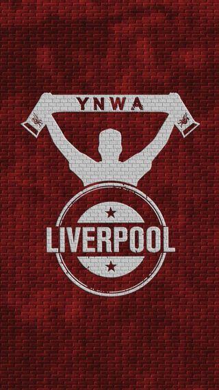 Обои на телефон ливерпуль, футбол, стена, логотипы, клуб