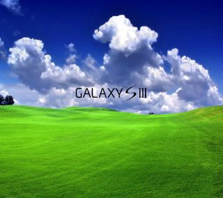 Обои на телефон пейзаж, галактика, landscape galaxy s3, galaxy s3