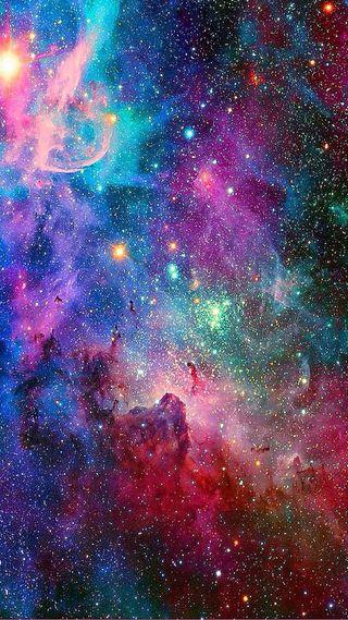 Обои на телефон девчачие, фиолетовые, розовые, галактика, outerspace, girly galaxy, galaxy