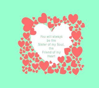 Обои на телефон душа, сердце, мой, друг, sister of my soul, sister