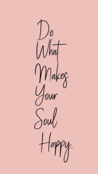 Обои на телефон душа, цитата, твой, счастливые, розовые, высказывания, your soul, happy