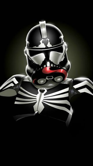 Обои на телефон штурмовик, шторм, человек паук, паук, марвел, комиксы, злодей, звезда, войны, веном, venom storm trooper, marvel, man, dc