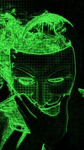 Обои на телефон хакер, матрица, зеленые, анонимус