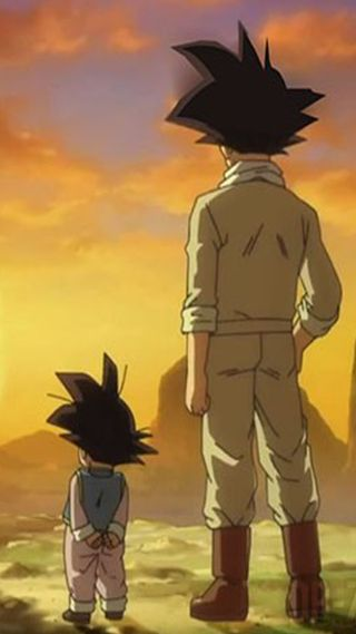 Обои на телефон мяч, дракон, гоку, goku and son