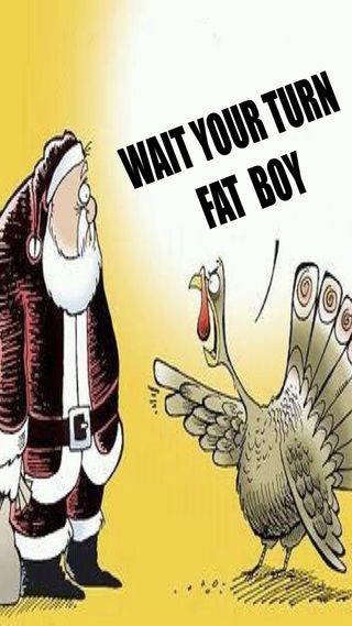 Обои на телефон турецкие, санта, рождество, благодарение, its thanksgiving