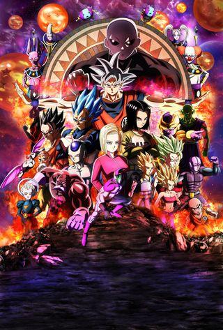 Обои на телефон фильмы, супер, мяч, мстители, дракон, гоку, аниме, jiren, dragon