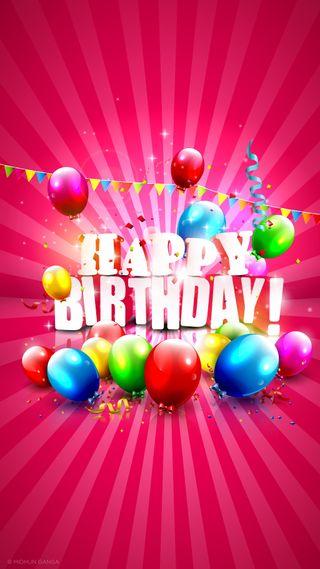 Обои на телефон эффекты, шары, цветные, фото, счастливые, красочные, день рождения, happy birthday 2018, happy, 2018