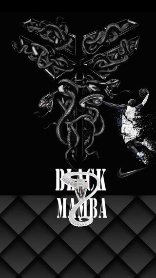 Обои на телефон черные, найк, логотипы, баскетбол, nike, mamba, log, black mamba logo