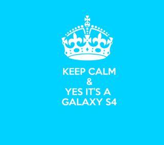 Обои на телефон спокойствие, самсунг, галактика, samsung, s4, keep, its, galaxy