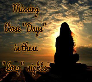 Обои на телефон болит, ты, скучать, одиночество, ночь, длинный, девушки, грустные, long night