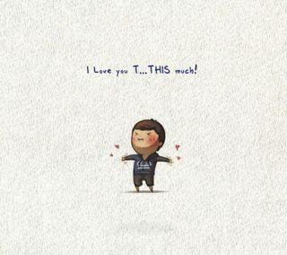 Обои на телефон рисунки, ты, любовь, love you mch, love