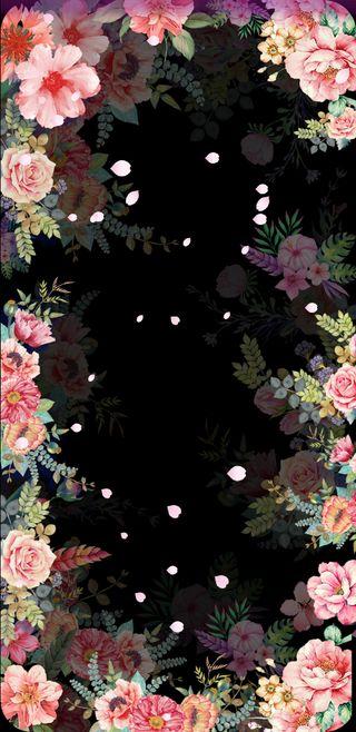 Обои на телефон лепестки, цветы, цветочные, симпатичные, розы, прекрасные, маргаритка, винтаж, floral petals, beautiful petals