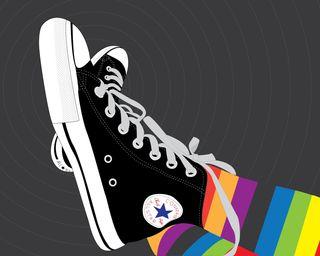 Обои на телефон обувь, черные, цветные, удивительные, красые, звезда, full, all-star