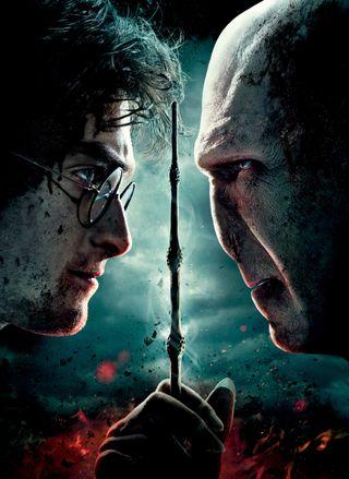 Обои на телефон hd, the deathly hallows, harry potter 7, магия, гарри, поттер