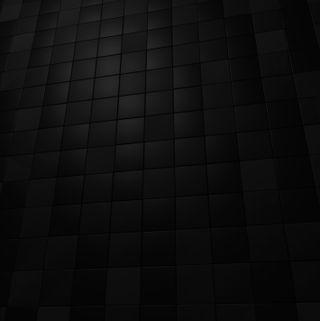 Обои на телефон куб, шаблон, черные, темные, стена, простые, кубы, крутые, дизайн, black cube wall, 3д, 3d