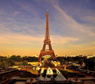 Обои на телефон франция, париж, европа, евро, башня