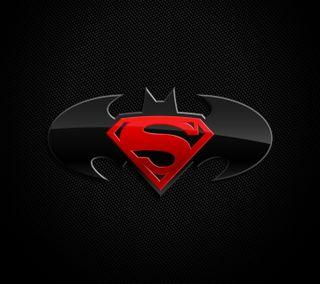 Обои на телефон супермен, логотипы, бэтмен, superman batman