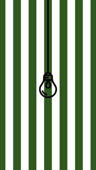 Обои на телефон свет, шаблон, лампочка, зеленые, загрузка, дизайн, белые, hanging, green and white