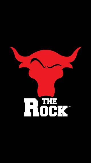 Обои на телефон рок, рестлинг, логотипы, бык, wwe, the rock
