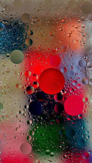 Обои на телефон мокрые, пузыри