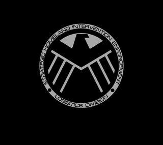 Обои на телефон щит, черные, темные, марвел, комиксы, marvel, darkdroid, agents of shield