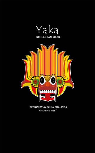 Обои на телефон шри ланка, графика, арт, yaka srilanka, art