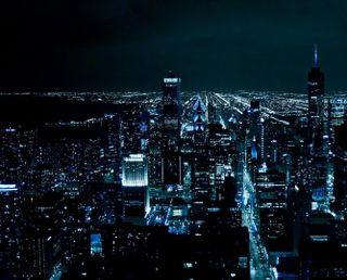 Обои на телефон чикаго, удивительные, ночь, chicago at night, at night