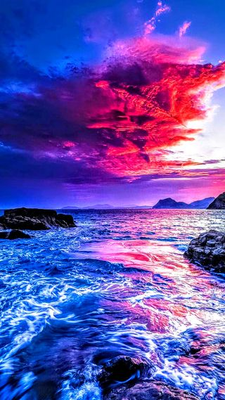 Обои на телефон ультра, небо, море, маяк, вода, su, medcezir, kaya, hd, gelgit, deniz