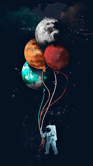 Обои на телефон солнечный, шары, черные, мир, космос, звезда, горячий, галактика, белые, space regular, gezegen, galaxy