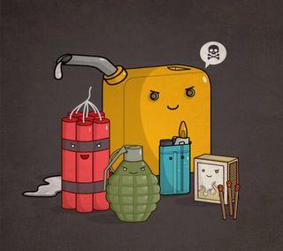 Обои на телефон опасные, oils