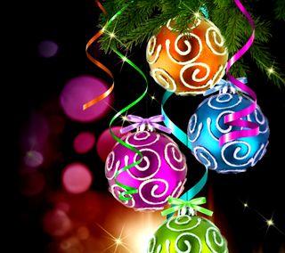 Обои на телефон яркие, украшения, украшение, рождество, огни, декор, блестящие, christmas decor