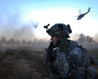 Обои на телефон армия, airborne